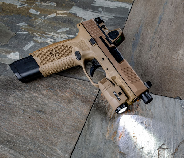 Inforce Pistol Light.
