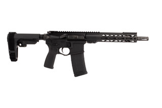 "Seekins Precision SP15 pistol with 10.5"" .223 Wylde barrel and SBA3 pistol arm brace"