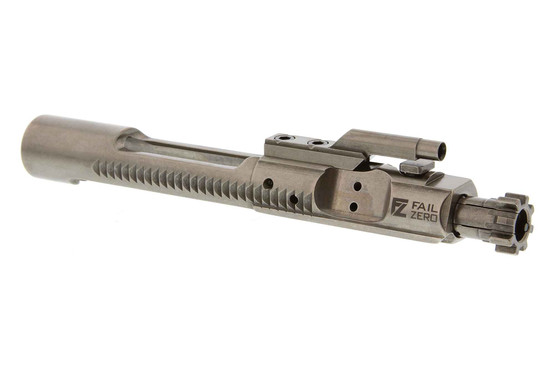The FailZero EXO AR15 bolt carrier group features a proprietary Nickel Boron coating