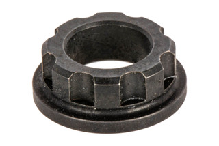 The Lantac USA Gen 4 Guide rod adapter bushing features a black nitride finish