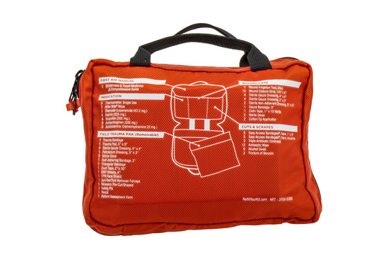 Adventure Medical Kits Sportsman 300 first aid kit includes a removable field trauma kit