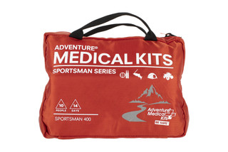 The Adventure Medical Kits Sportsman 400 First Aid Kit has enough supplies for up to 10 people