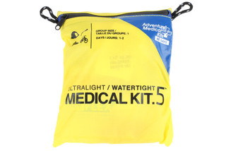 The Ultra Light medical kit is waterproof and great for outdoor adventures