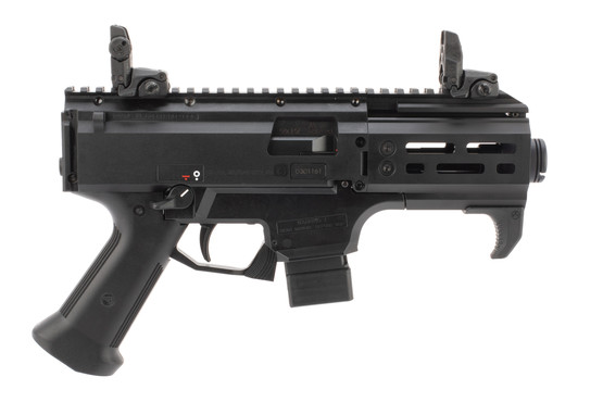 CZ Scorpion micro 9mm pistol features Magpul accessories