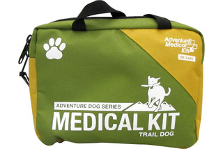 The Trail Dog kit comes in a compact case with a carry handle