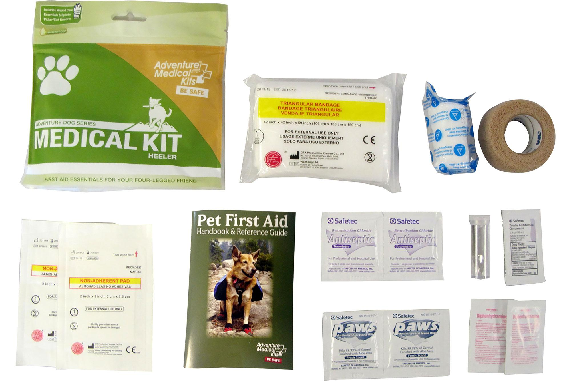 This medical kit has all the essentials for keeping your dog healthy