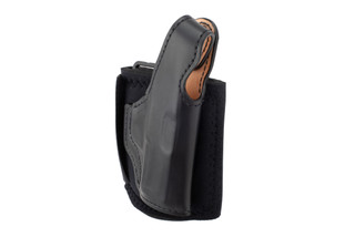 DeSantis Die Hard Ankle Rig Holster for Sig P365 features a saddle-leather form