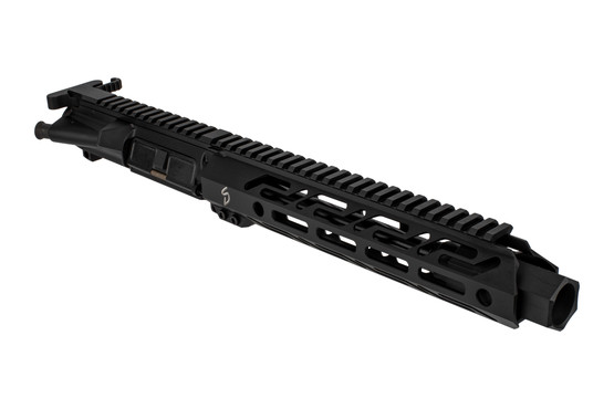 The Stern Defense 9mm AR15 complete upper receiver group features an 8.5 inch barrel