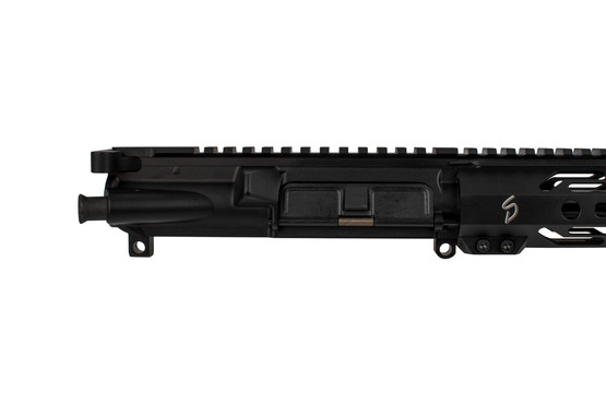 The Stern Defense 9mm Glock compatible upper receiver is machined from 7075-T6 aluminum