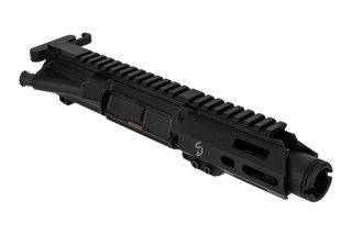 The Stern Defense ultra short 4 inch 9mm upper receiver group is compatible with Mil-Spec lowers