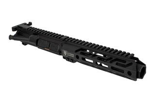 The Stern Defense 9mm complete upper receiver group features a 6 inch barrel and blast diffuser