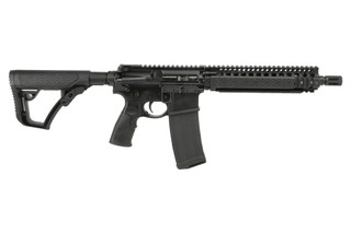 The Daniel Defense MK18 5.56 short barreled rifle features a 10.3 inch cold hammer forged barrel