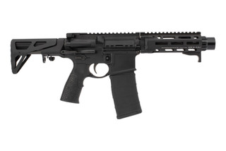 Daniel Defense DDM4 PDW 300 Blackout SBR features a 7 inch cold hammer forged chrome lined barrel