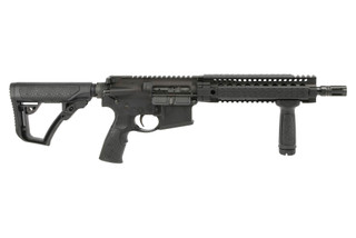 The Daniel Defense DDM4 300S SBR features a 10.3 inch barrel chambered in .300 blackout