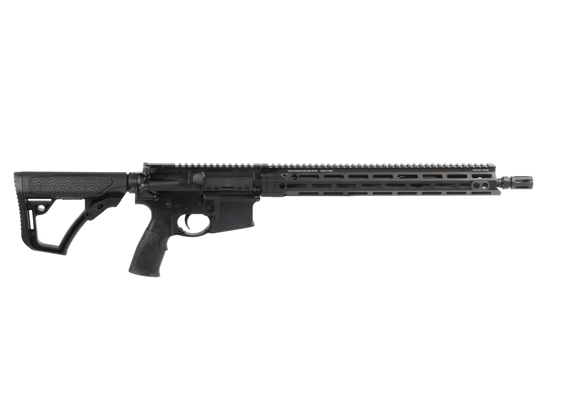 The Daniel Defense DDM4v7 Lightweight rifle features a 16 inch barrel