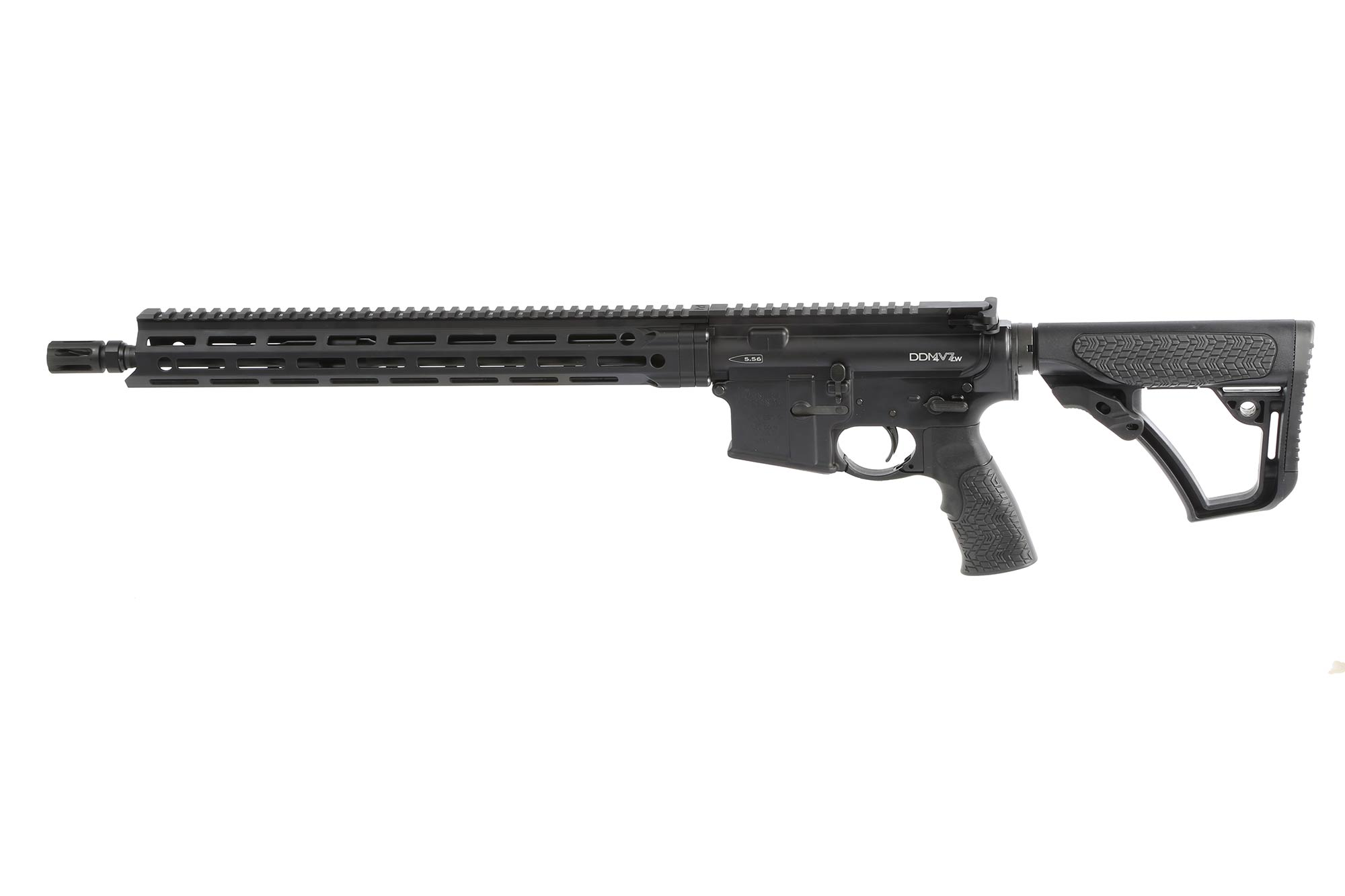 The Daniel Defense DDM4v7 AR15 features the MFR XS M-LOK handguard