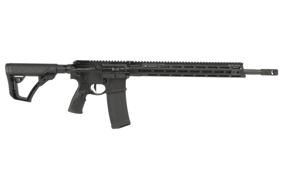 The Daniel Defense DDM4v7 Pro AR15 rifle features a 16 inch 5.56 cold hammer forged barrel