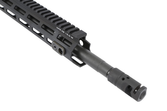 The Daniel Defense DDM4v7 pro for sale features a muzzle brake for recoil reduction
