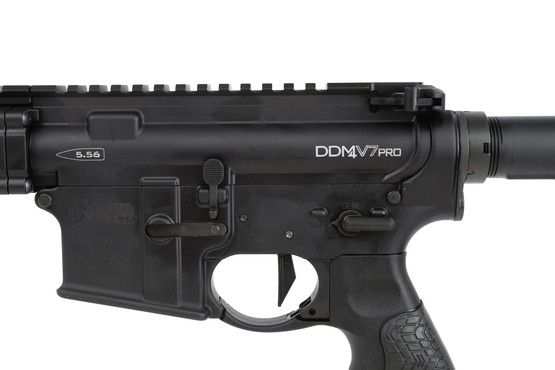 The DDM4v7 Pro Rifle features a high quality aftermarket trigger