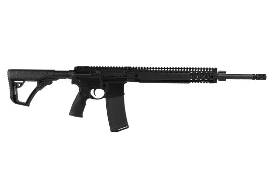 The Daniel Defense MK12 5.56 AR-15 features a 18 inch cold hammer forged barrel