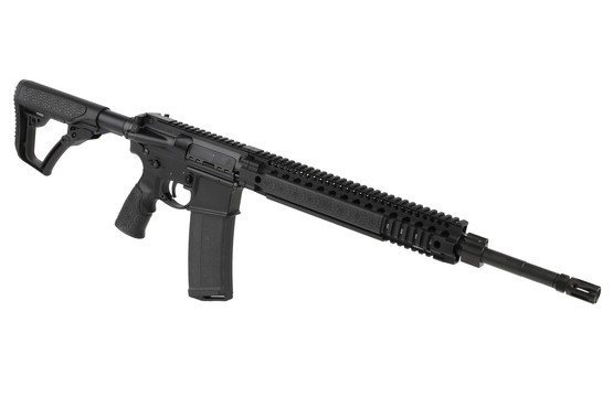 The Daniel Defense MK12 18 inch rifle features the 12 inch DDM4 quad rail handguard