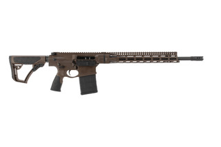 DD5 V4 6.5 Creedmor Semi-Auto Rifle from Daniel Defense features a black Parkerized barrel and receiver