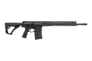 Daniel Defense DD5v4 complete rifle with 18in 6.5 creedmoor barrel is equipped with a 15in M-LOK freefloat rail.
