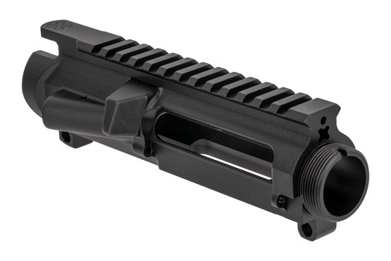 The Noveske Rifleworks N4 Stripped AR15 upper receiver Gen III is machined from a billet of aluminum