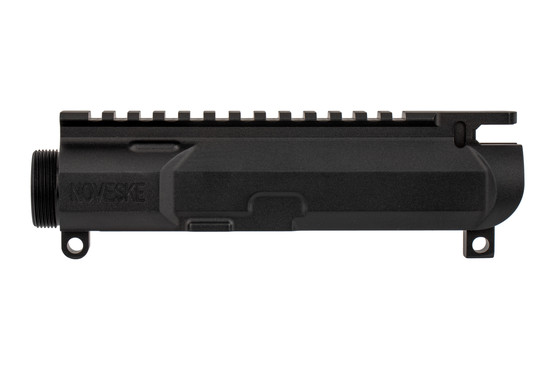 The Noveske Rifleworks Billet Stripped Upper AR-15 features an M4 flat top picatinny rail