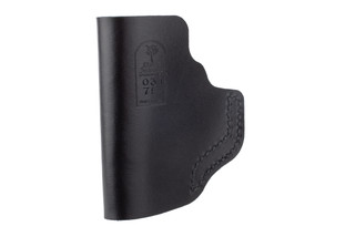 DeSantis The Insider IWB Holster for Ruger LCP II/ Taurus Spectrum features black leather material
