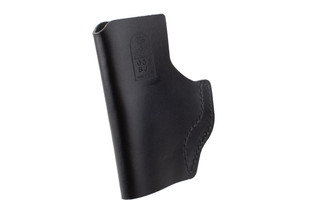 DeSantis The Insider IWB Holster for Sig P365 features black leather material
