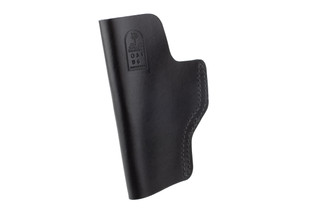 DeSantis The Insider IWB Holster for Glock 19 and Springfield XD features black leather material
