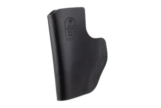 DeSantis The Insider IWB Holster for Glock 42/43 features black leather material