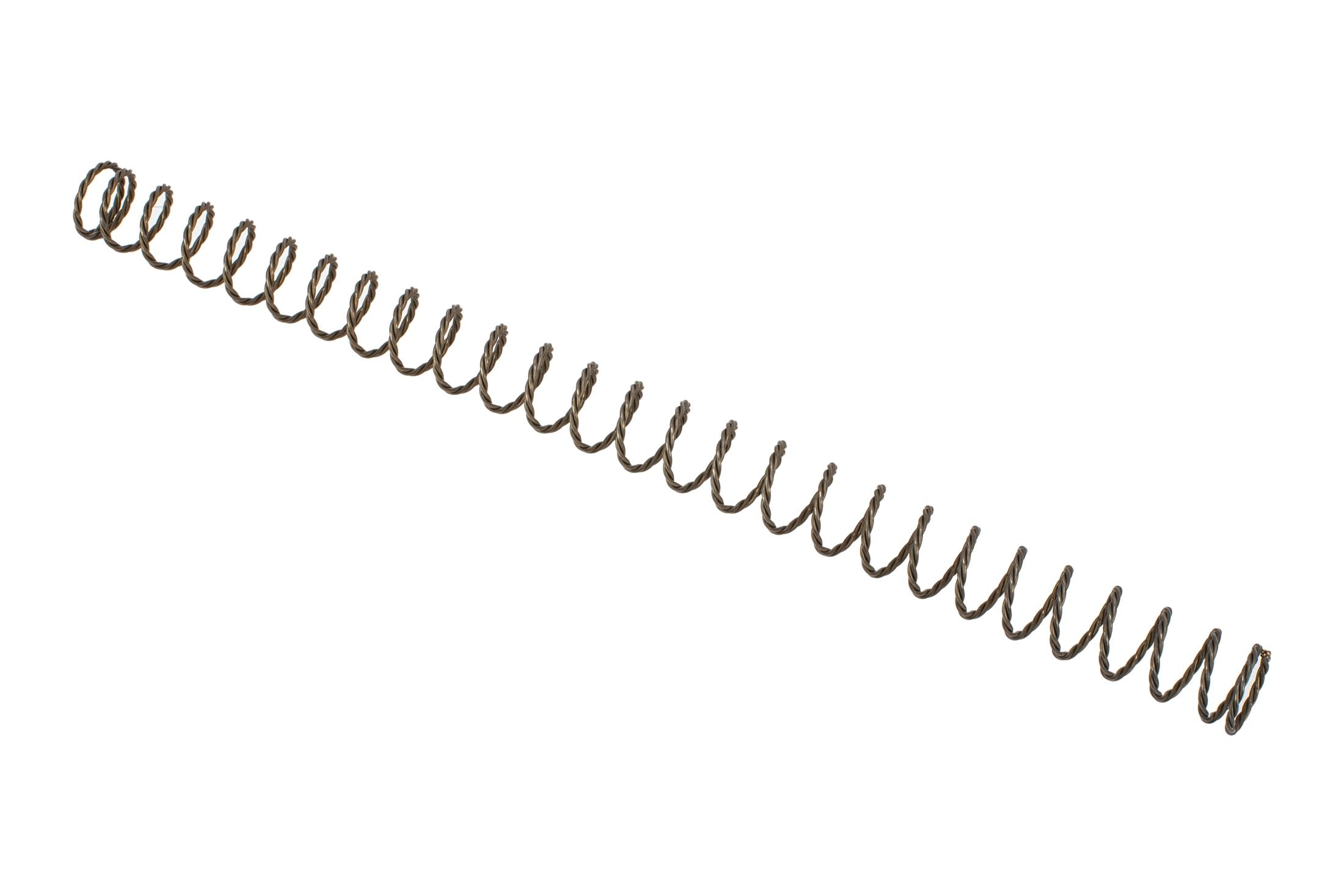 Geissele Automatics Super 42 rifle buffer spring features triple-braided wire for enhanced damping and service life.