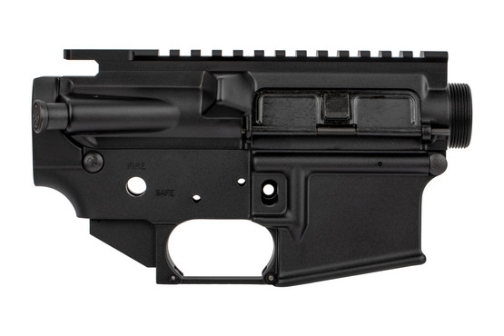 The Noveske N4 Gen 1 AR-15 receiver set comes with dust cover and forward assist installed