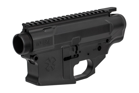 The Noveske Rifleworks Gen III N6 Matched AR-10 Receiver Set is machined from billet aluminum