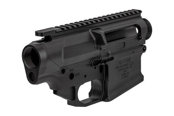 The Noveske Gen II N6 Receiver set is compatible with SR25 and DPMS parts