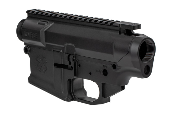 The Noveske Rifleworks N6 Gen 3 AR-308 upper receiver features a threaded detent for the bolt release