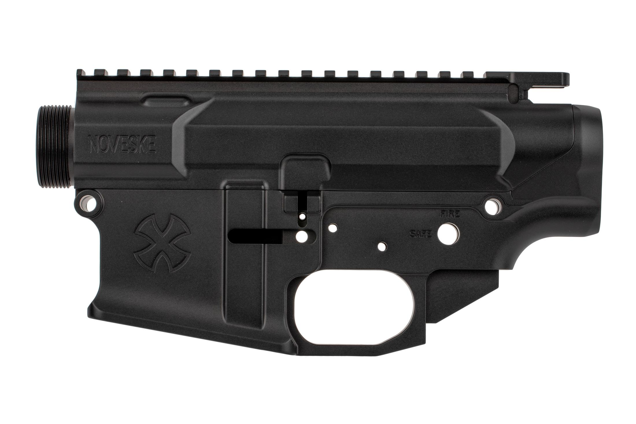 The Noveske N6 matched receiver assembly features an integral trigger guard