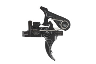 The Geissele Automatics Hi-Speed National Match Two Stage AR-15 Trigger Set is highly adjustable for competition or combat