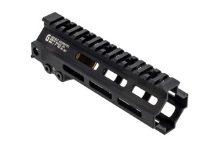 "Geissele Super Modular Rail MK8 7"" M-LOK handguard for the AR-15 with black anodized finish"