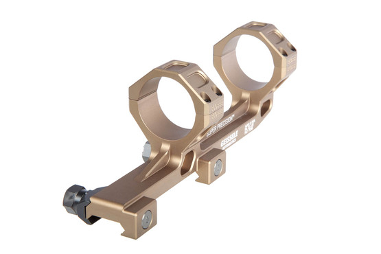 Geissele Automatics AR15 super precision hyper extended 34mm scope mount is machined from 7075-T6 aluminum