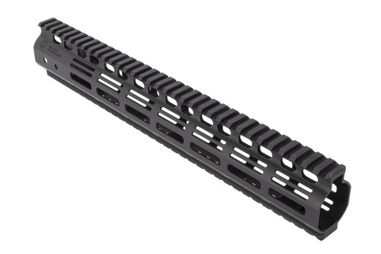 Noveske Rifleworks 13.5in NHR Hybrid M-LOK rail for the AR15 features full length top and bottom M1913 picatinny rails