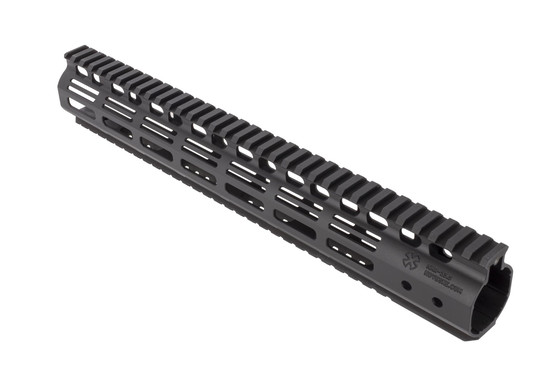 Noveske 13.5in Hybrid M-LOK Rail for the AR-15 combines an ergonomic and narrow M-LOK handguard with full length pic rails