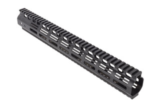 Noveske Rifleworks 15in NHR Hybrid M-LOK rail for the AR15 features full length top and bottom M1913 picatinny rails