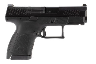 CZ P10S 9mm sub compact pistol features a black frame