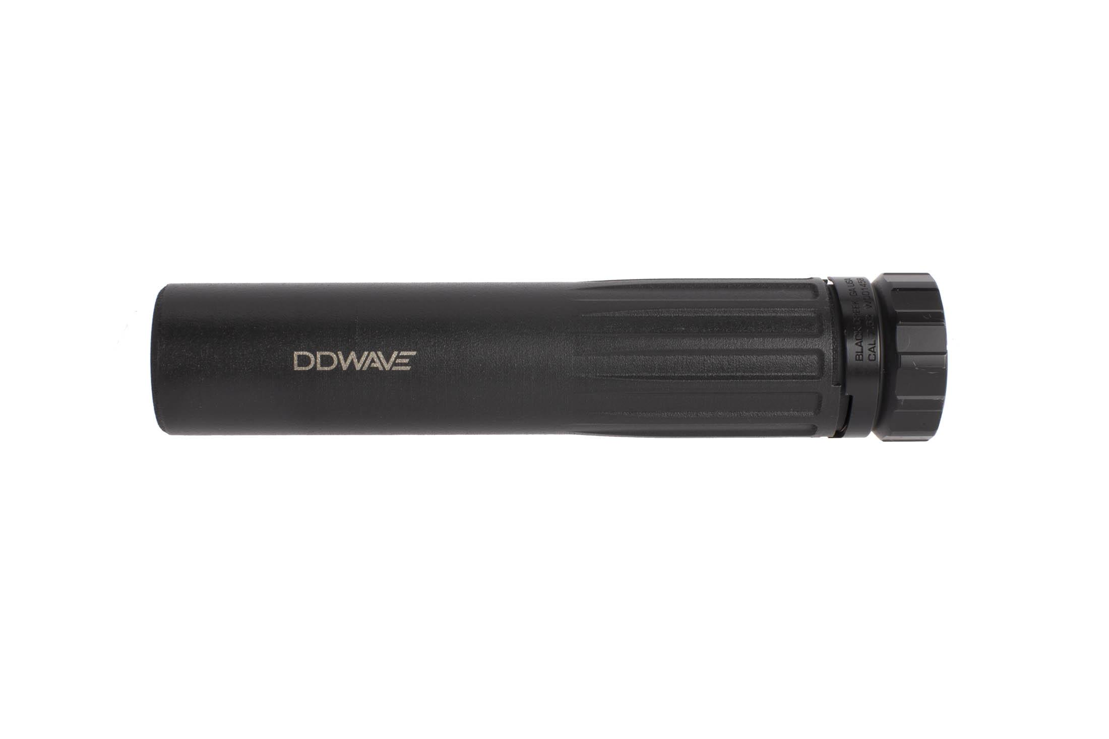Daniel Defense WAVE 7.62 silencer features a 3D printed body and baffle stack for superior capability and minimal weight