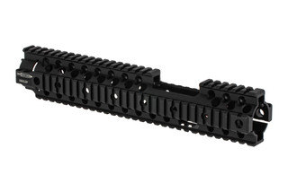 The Centurion Arms C4 rail front sight cutout handguard is 12 inches long