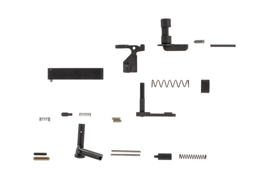 Geissele Automatics builders parts kit for the AR-15 includes all the small parts you need without a trigger or pistol grip for a proper custom build