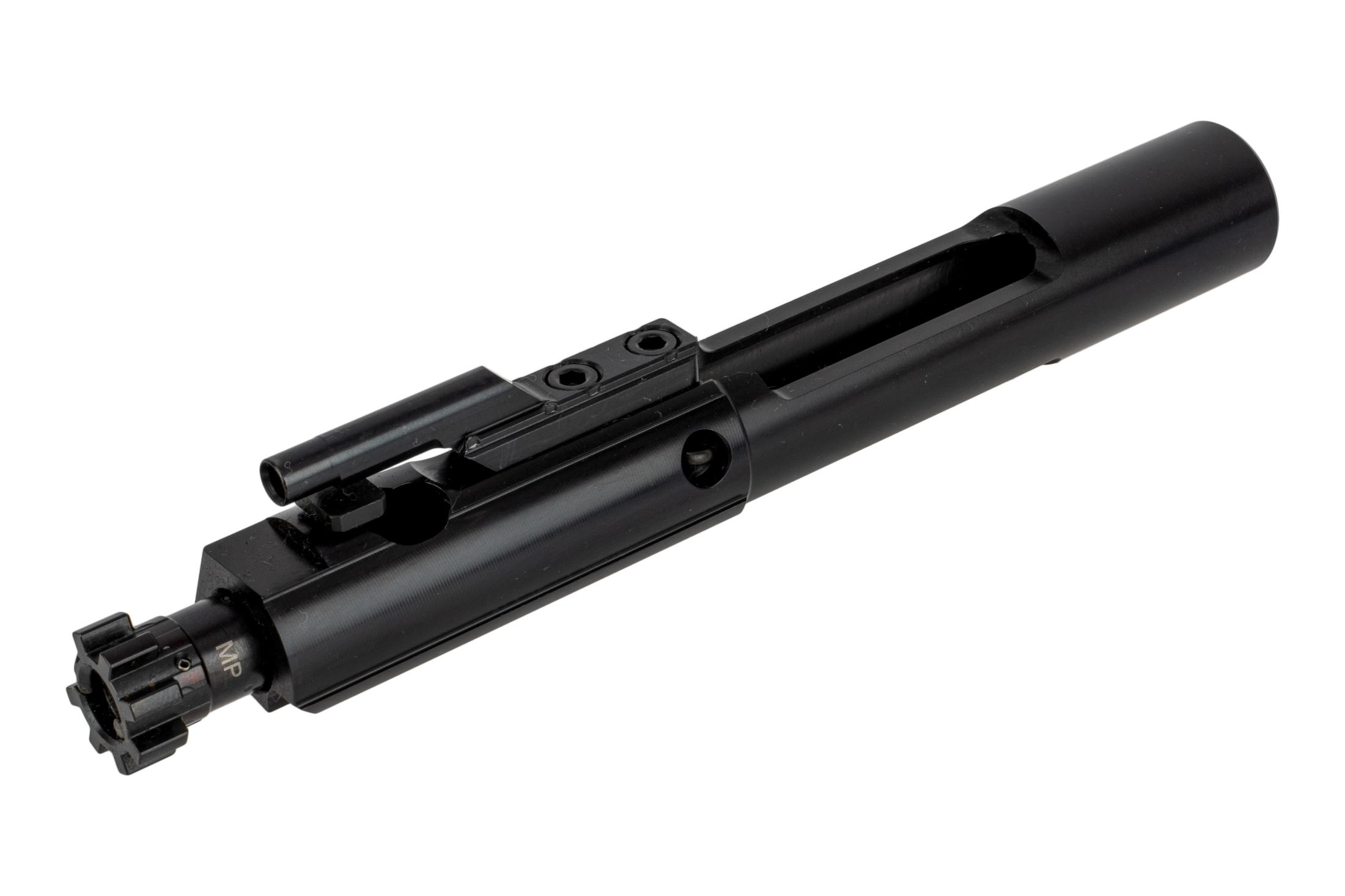ALG Defense black nitrided M16 bolt carrier group has a Magnetic Particle Inspected bolt assembly